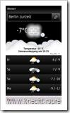 Ovi Maps 3.03: Wetterbericht