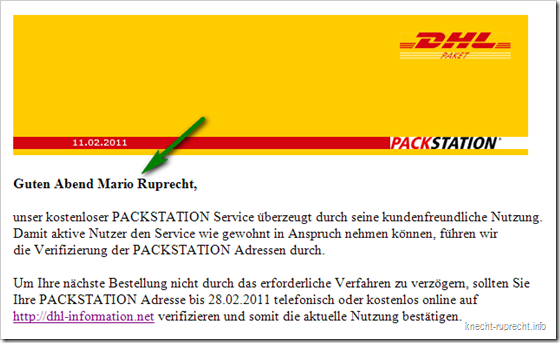 DHL-Packstation-Phishing