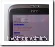 HBOOT-Menü am HTC Desire