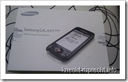 Samsung Galaxy Spica OVP