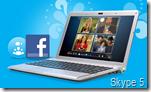Skype und Facebook