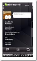 Skype für Symbian - Profil