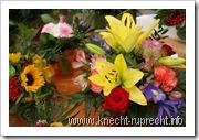 Blumen-Station & Ambiente: Sträuße zum Mitnehmen