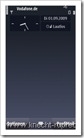 Zeitgesteuerte Profile im N97