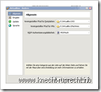 VirtualBox-Eiinstellungen