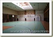 Flughafen Tempelhof: Ungenutzte Sporthalle der Amerikaner