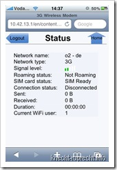 E5830: iPhone-Interface - Status