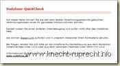 Quickcheck im Internet