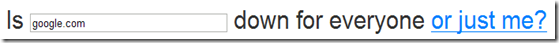 Webseite down?