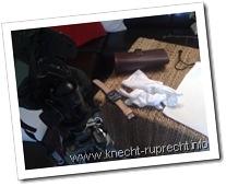 Knecht Ruprecht beim Fotografieren