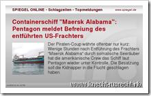 Spiegel Online im Philips LCD-Rahmen