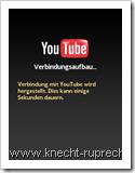 Youtube auf Nokia: Startscreen