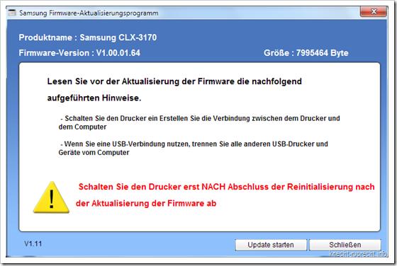 Samsung CLX-3175FN mir Firmware v1.00.01.64