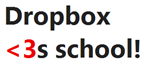 Dropbox loves School