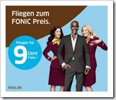 Fliegen zum FONIC Preis