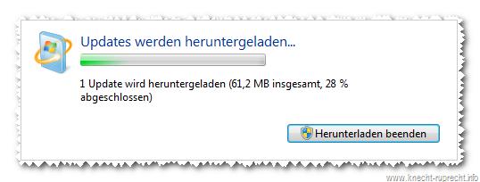 Windows 7 SP1 wird geladen ...