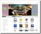 Der neue Android Market im Web