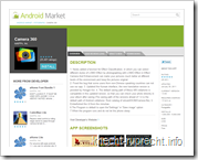 Android Market: App Details