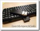 iPazzPort mit dem eingebauten USB-Empfänger
